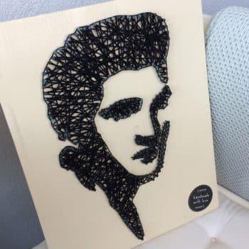 Fadenbild Nagelbild Elvis bestellen kaufen