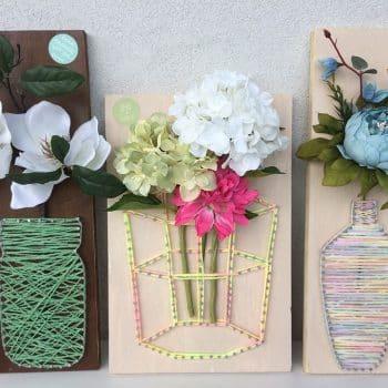 Fadebild Blume Vase bestellen