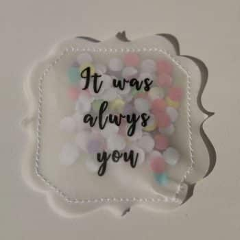 Give-away Hochzeit Konfetti
