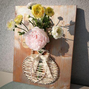 Herzallerliebst - Kunstblumen, Dekoration, Geschenkemacherei, Nagelbilder, für den besonderen Anlass, Wien, Niederösterreich, Burgenland