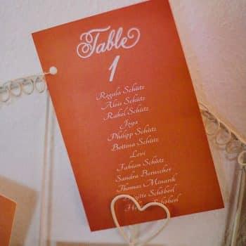 Tischanordnung Hochzeit Sitzplan