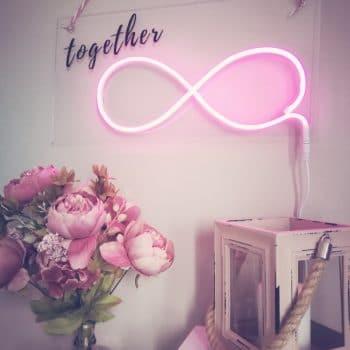 Leuchtschild Together